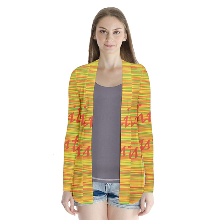 Chill out Drape Collar Cardigan
