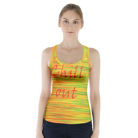 Chill out Racer Back Sports Top