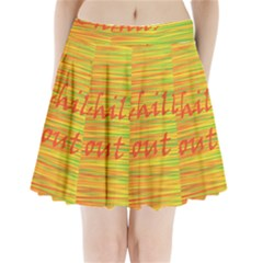 Chill out Pleated Mini Skirt