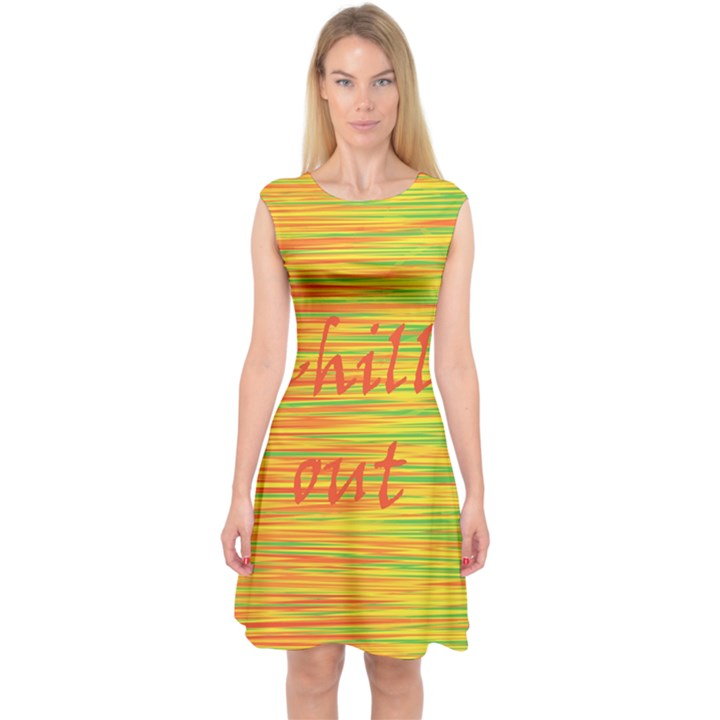 Chill out Capsleeve Midi Dress