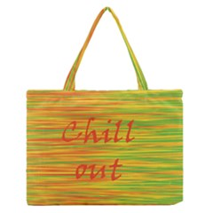 Chill Out Medium Zipper Tote Bag