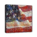 Grunge United State Of Art Flag Mini Canvas 6  x 6  View1