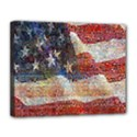 Grunge United State Of Art Flag Canvas 14  x 11  View1