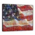 Grunge United State Of Art Flag Canvas 24  x 20  View1