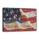 Grunge United State Of Art Flag Canvas 18  x 12  View1