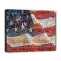 Grunge United State Of Art Flag Deluxe Canvas 20  x 16   View1