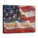 Grunge United State Of Art Flag Deluxe Canvas 24  x 20   View1