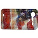 Grunge United State Of Art Flag HTC Incredible S Hardshell Case  View1