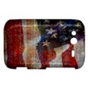 Grunge United State Of Art Flag HTC Wildfire S A510e Hardshell Case View1