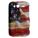 Grunge United State Of Art Flag HTC Wildfire S A510e Hardshell Case View2