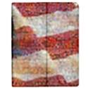 Grunge United State Of Art Flag Apple iPad 2 Flip Case View1
