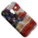 Grunge United State Of Art Flag Samsung Galaxy Ace Plus S7500 Hardshell Case View5