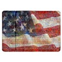 Grunge United State Of Art Flag Samsung Galaxy Tab 8.9  P7300 Flip Case View1