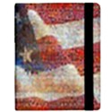 Grunge United State Of Art Flag Samsung Galaxy Tab 8.9  P7300 Flip Case View2
