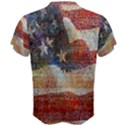 Grunge United State Of Art Flag Men s Cotton Tee View2