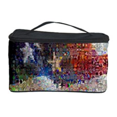 Grunge United State Of Art Flag Cosmetic Storage Case