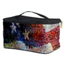 Grunge United State Of Art Flag Cosmetic Storage Case View3