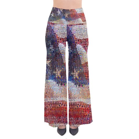 Grunge United State Of Art Flag Pants