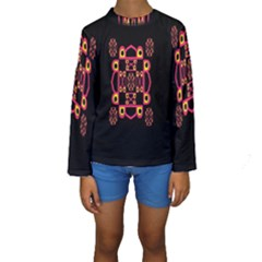 Letter R Kids  Long Sleeve Swimwear
