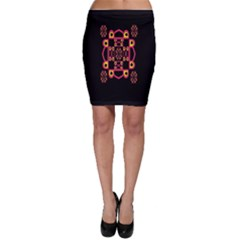 LETTER R Bodycon Skirt