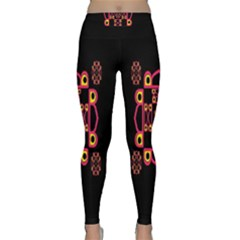 Letter R Yoga Leggings
