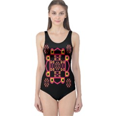 LETTER R One Piece Swimsuit