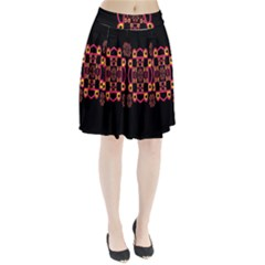 LETTER R Pleated Skirt