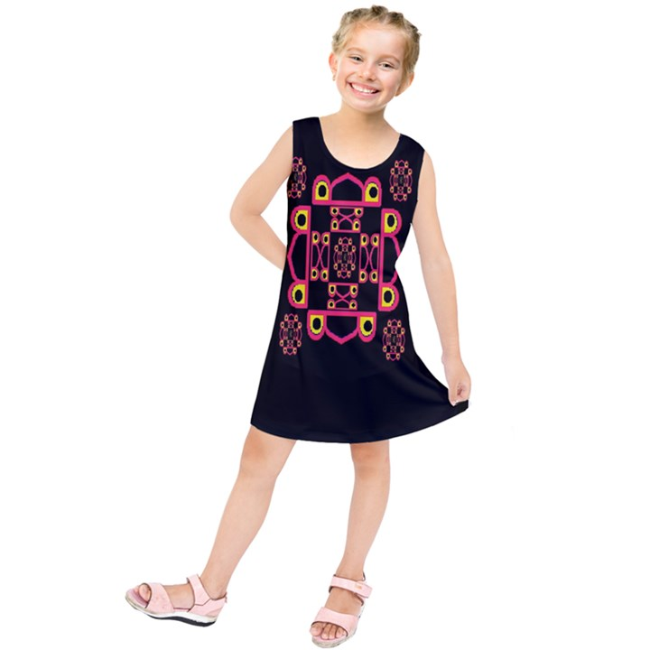 LETTER R Kids  Tunic Dress