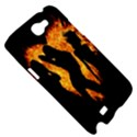 Heart Love Flame Girl Sexy Pose Samsung Galaxy Note 2 Hardshell Case View5