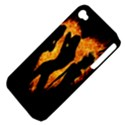 Heart Love Flame Girl Sexy Pose Apple iPhone 4/4S Hardshell Case (PC+Silicone) View4