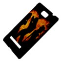 Heart Love Flame Girl Sexy Pose HTC 8S Hardshell Case View4