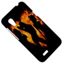 Heart Love Flame Girl Sexy Pose HTC Desire VT (T328T) Hardshell Case View5