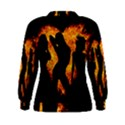 Heart Love Flame Girl Sexy Pose Women s Sweatshirt View2