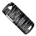 Black an white  Chill out  HTC One S Hardshell Case  View5
