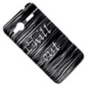 Black an white  Chill out  HTC Radar Hardshell Case  View5