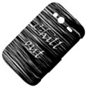 Black an white  Chill out  HTC Wildfire S A510e Hardshell Case View4