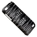 Black an white  Chill out  HTC One V Hardshell Case View5