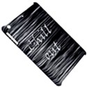 Black an white  Chill out  Apple iPad Mini Hardshell Case View5