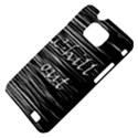 Black an white  Chill out  Samsung Galaxy S II i9100 Hardshell Case (PC+Silicone) View4