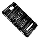 Black an white  Chill out  HTC 8S Hardshell Case View5