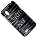Black an white  Chill out  HTC Desire VT (T328T) Hardshell Case View5