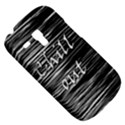 Black an white  Chill out  Samsung Galaxy S3 MINI I8190 Hardshell Case View5