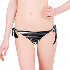 Black An White  chill Out  Bikini Bottom