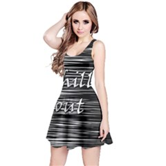 Black An White  chill Out  Reversible Sleeveless Dress
