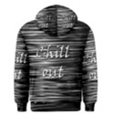 Black an white  Chill out  Men s Pullover Hoodie View2