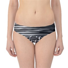 Black an white  Chill out  Hipster Bikini Bottoms