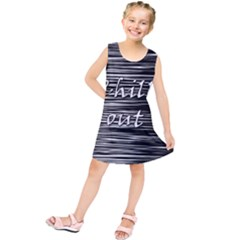 Black an white  Chill out  Kids  Tunic Dress