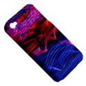 Lights Abstract Curves Long Exposure Apple iPhone 4/4S Hardshell Case (PC+Silicone) View5