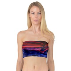 Lights Abstract Curves Long Exposure Bandeau Top