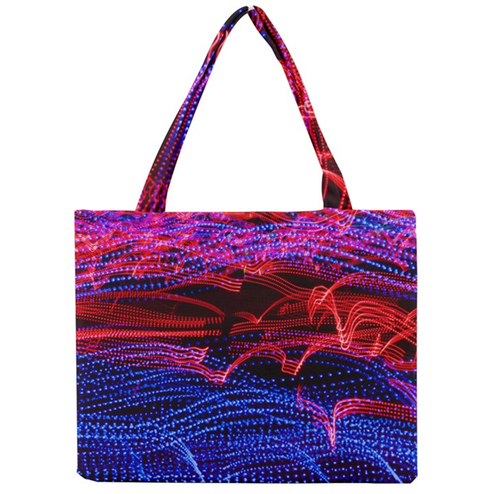 Lights Abstract Curves Long Exposure Mini Tote Bag